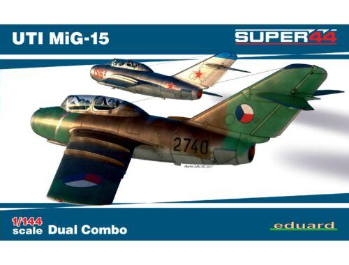 Eduard UTI MiG-15 Dual Combo SUPER44 1:144 (4444)