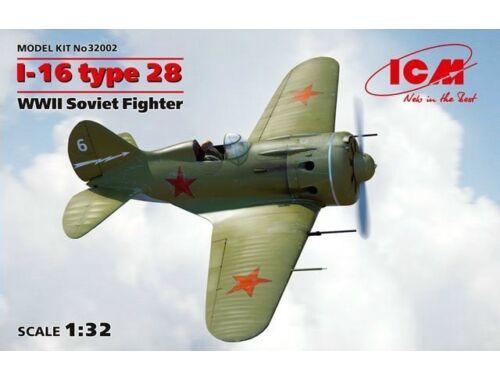 ICM Soviet Fighter I-16 type 28 1:32 (32002)