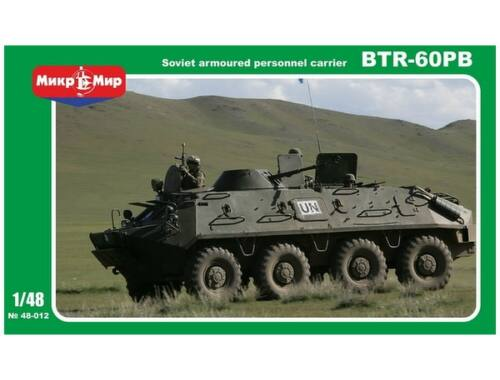 Micro Mir BTR-60PB Soviet APC 1:48 (48-012)