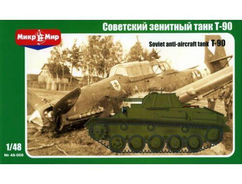 Micro Mir Soviet T-90 Anti-aircraft Tank 1:48 (48-008)