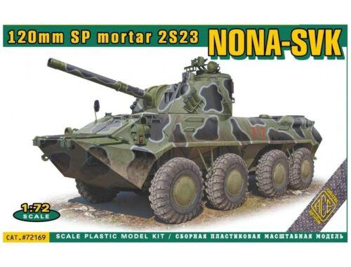 ACE NONA-SVK 120mmm SP mortar 2S23 1:72 (ACE72169)