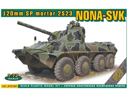 ACE NONA-SVK 120mmm SP mortar 2S23 1:72 (72169)