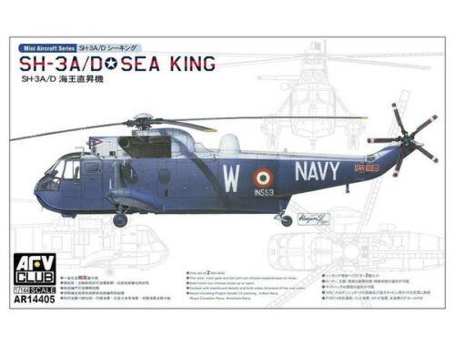 AFV Club SH-3A SEA KING (2 kits per box) 1:144 (AR14405)