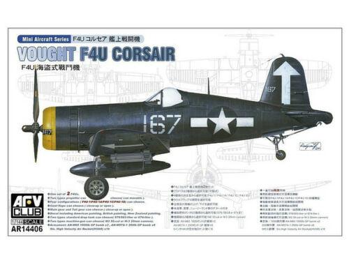 AFV Club F4U-1/1A/1C/1D (2 kits per box) 1:144 (AR14406)