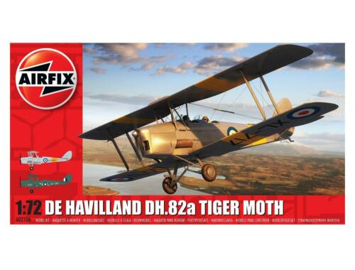 Airfix deHavilland Tiger Moth 1:72 (A02106)
