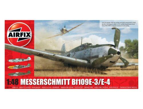 Airfix Messerschmitt Me109E-4/E-1 1:48 (A05120B)