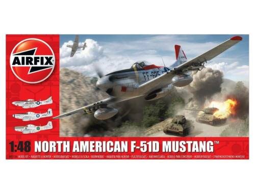 Airfix North American F51D Mustang 1:48 (A05136)