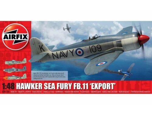 "Airfix Hawker Sea Fury FB.II ""Export Edition"" 1:48 (A06106)"
