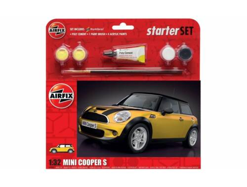 Airfix Large Start Set - MINI Cooper S 1:32 (A55310)
