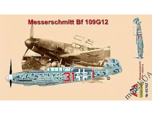 AMG Messerschmitt Bf109G-12(trainer),early 1:48 (AMG48702)