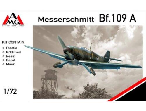 AMG Messerschmitt Bf.109A 1:72 (72401)