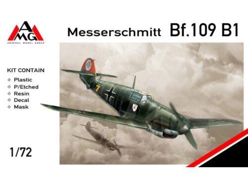 AMG Messerschmitt Bf.109B-1 1:72 (AMG72403)