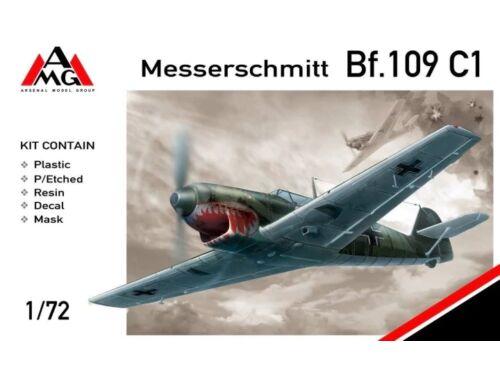 AMG Messerschmitt Bf.109C-1 1:72 (AMG72405)