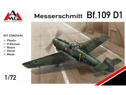 AMG Messerschmitt Bf.109D-1 1:72 (72409)