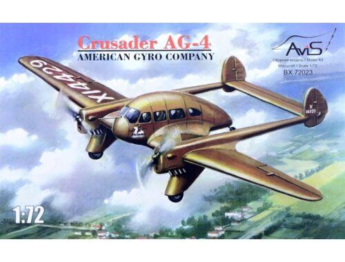 Avis Crusader AG-4 American gyro company 1:72 (72023)