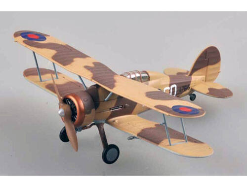 Easy Model Gladiator Mk.I94 Sqn,Iraq Conversion Flight,RAF GO-D(L7616) 1:72 (36456)