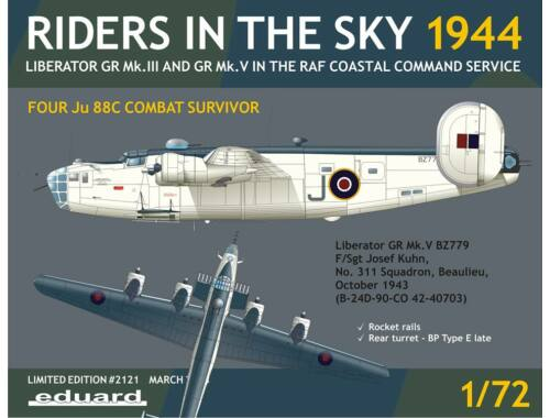 Eduard Riders in the Sky 1944 LIMITED EDITION 1:72 (2121)