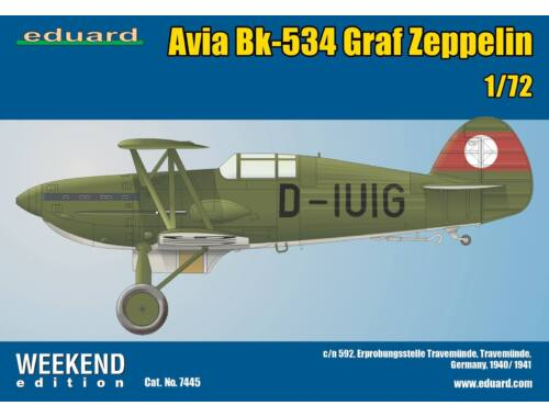 Eduard Avia Bk-534 Graf Zeppelin WEEKEND edition 1:72 (7445)
