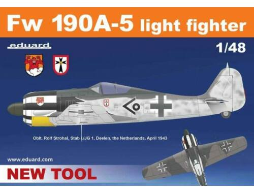 Eduard Fw 190A-5 light fighter ProfiPACK 1:48 (82143)