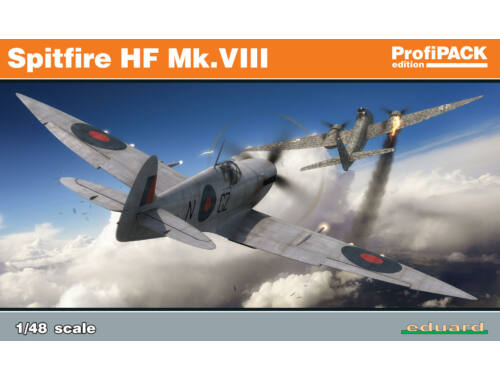 Eduard Spitfire HF Mk.VIII ProfiPACK 1:48 (8287)