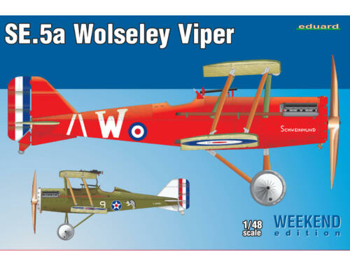 Eduard SE.5a Wolseley Viper WEEKEND edition 1:48 (8454)