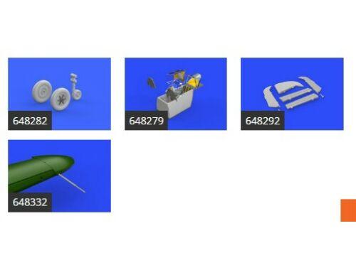 Eduard Bf 109F essential for EDUARD 1:48 (SIN64838)