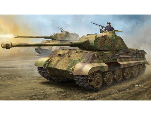 "Hobby Boss German Sd.Kfz.182 King Tiger ""Porsche Turret"" w/Zimmerit 1:35 (84530)"