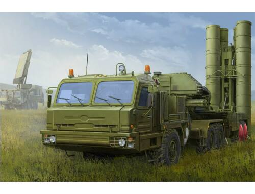 Hobby Boss Russian BAZ-64022 with 5P85TE2 TEL S-400 1:35 (85517)