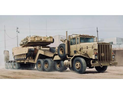 Hobby Boss M911 C-HET w/m747 Heavy Equipment Semi- Trailer 1:35 (85519)