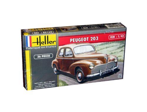 Heller Model Set Peugeot 203 (36 pieces) 1:43 (56160)