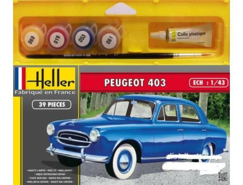 Heller Model Set Peugeot 403 (39 pieces) 1:43 (56161)