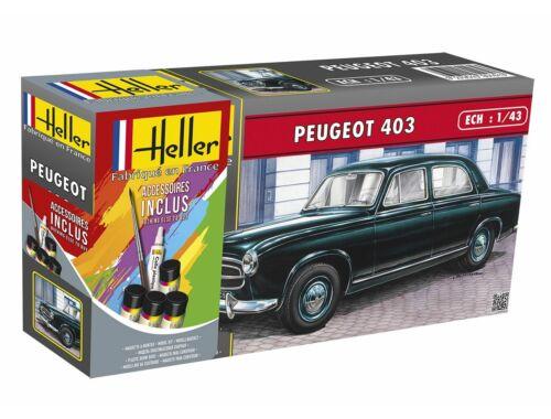 Heller Model Set Peugeot 403 (39 pieces) 1:43 (56161)