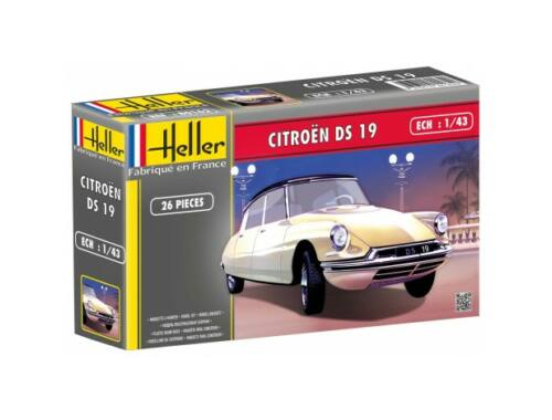 Heller Model Set CITROEN DS 19 1:43 (56162)