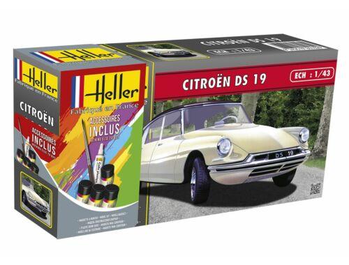 Heller STARTER KIT Citroen DS 19 1:43 (56162)