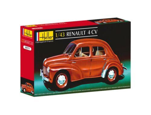 Heller Model Set Reanult 4 CV 1:43 (56174)