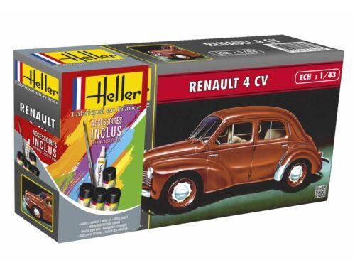 Heller STARTER KIT Renault 4 CV 1:43 (56174)