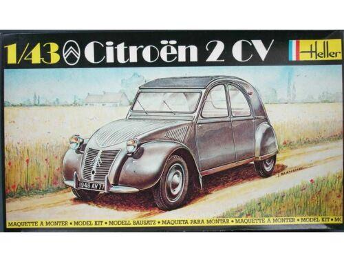 Heller Model Set Citroen 2 CV 1:43 (56175)