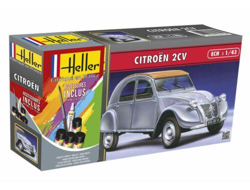 Heller STARTER KIT Citroen 2 CV 1:43 (56175)