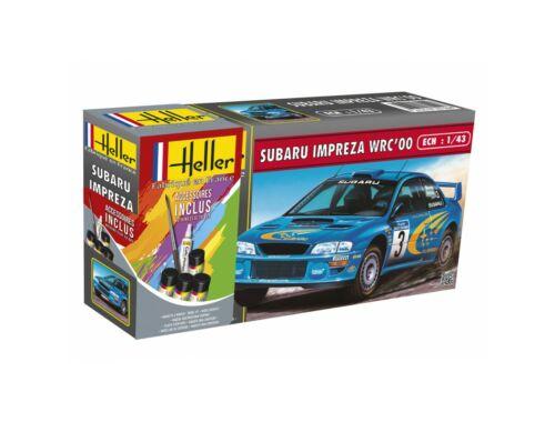 Heller Model Set Subaru Impreza WRC'00 1:43 (56194)