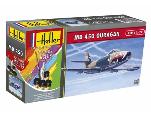 Heller Model Set MD450 OURAGAN 1:72 (56201)