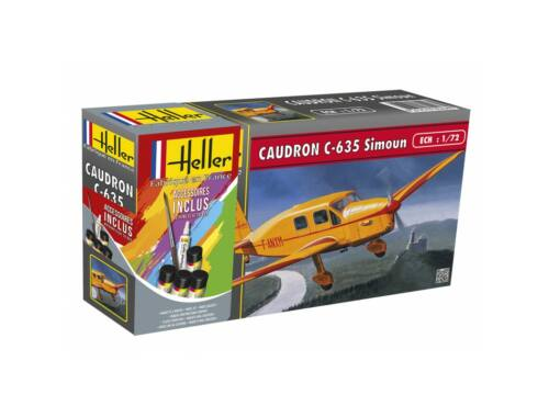 Heller Model Set Caudron C-635 Simoun 1:72 (56208)