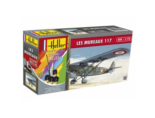 Heller Model Set LES MUREAUX 117 1:72 (56215)