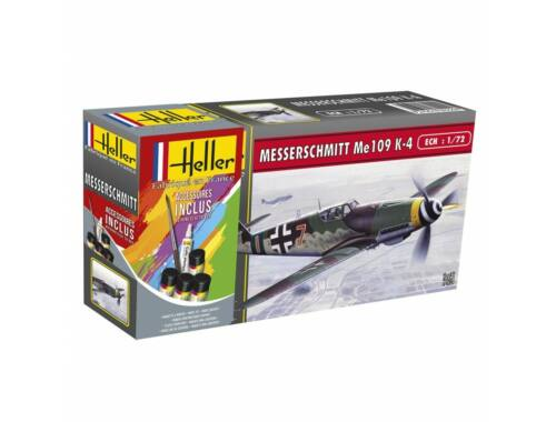 Heller Model Set Messerschmitt Bf 109 K-4 1:72 (56229)