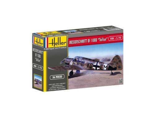 """Heller Model Set Messerschmitt Bf 108 B """"Tajfun"""" 1:72 (56231)"""