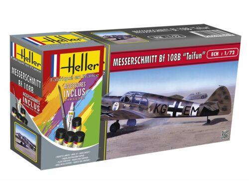 Heller STARTER KIT Messerschmitt Bf 108 B Taifun 1:72 (56231)
