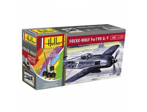 Heller Model Set FOCKE Wulf Fw 190 A8/F3 1:72 (56235)