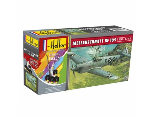 Heller Model Set Messerschmitt Bf 109 B1/C1 1:72 (56236)