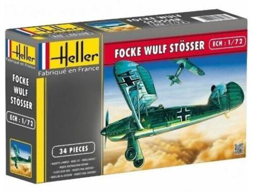 """Heller Model Set Focke Wulf Fw 56 """"Stosser"""" 1:72 (56238)"""