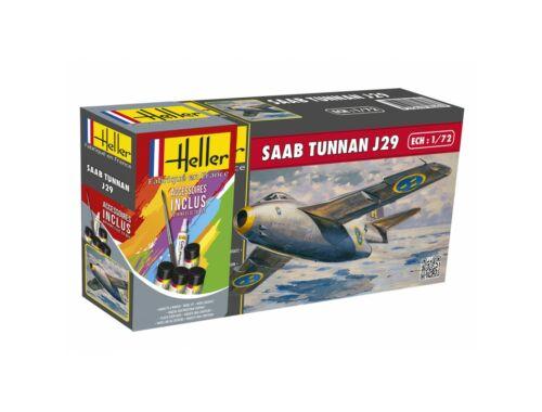 Heller Model Set SAAB Tunnan 1:72 (56260)