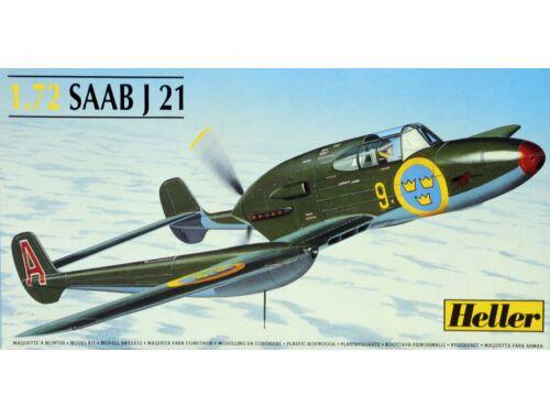 Heller Model Set SAAB J21 1:72 (56261)